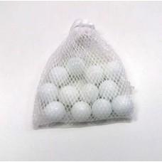 Bola de Gude Branca - embalagem com 12 unidades de 22mm
