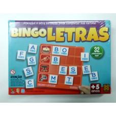 Bingo das Letras - de 5 a 8 anos