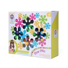 Brinquedo para montar star Plic - com 30 peças