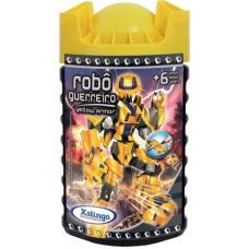 Robô Guerreiro - Yellow Armor - 57 Peças