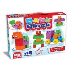 Baby Block 25 peças de encaixar
