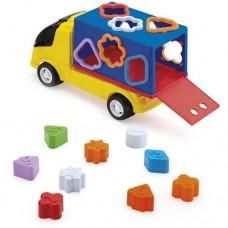 Caminhão com Formas Geométricas