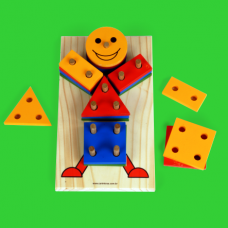 Boneco Geométrico REF.: 4125