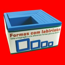 Formas com Labirinto - REF.: 4450
