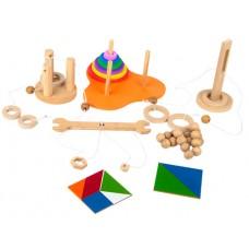 Kit QI - MDF - 6 Jogos - Embalagem Plástica/TNT