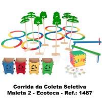 Ecoteca - Corrida da Coleta Seletiva - Maleta 2 - Ref.: 1487