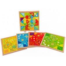 Mosaico Fantástico - Kit com 4 pranchas