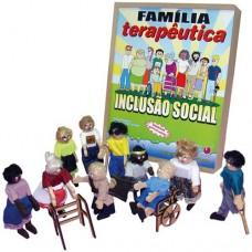Família Terapêutica Inclusão Social - MDF - 10 Personagens