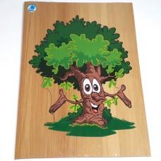 Quebra - cabeça Liso Árvore
