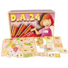 D. A. 24 Discriminação Auditiva com 24 Jogos