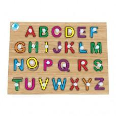 Quebra-cabeça com pinos - Alfabetização