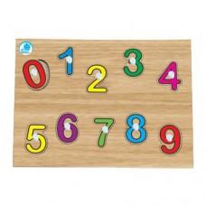 Quebra-cabeça com pinos - Numerais