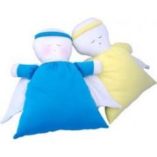 Anjo com Bordado - Santo Anjo do Senhor