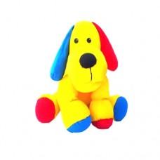 Cachorro Colorido Pequeno 24 Cm
