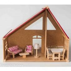 Casa Suíça com Móveis - PA106