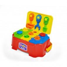 Brincando de Profissões - Maleta de Ferramentas Toll Kids - vermelho e verde