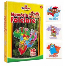 Memória Folclore - Caixa Cartonada