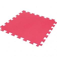 Tatame de EVA com Encaixe 1x1mt Vermelho 15mm - Uma Unidade