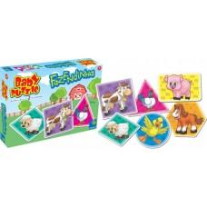 Quebra - cabeças Baby Puzzle Fazendinha (Taqueta)