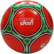 Bola de Futebol de Campo - Vermelha com verde