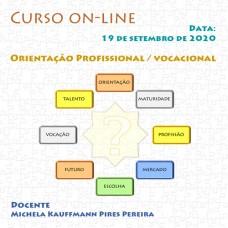 Curso on-line - Orientação Profissional / Vocacional