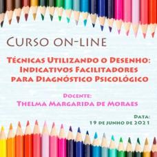 Curso on-line - Técnicas Utilizando o Desenho: Indicativos Facilitadores para Diagnóstico Psicológico