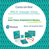 Curso on-line - WISC IV Avançado - Escala Wechsler de Inteligência para Crianças