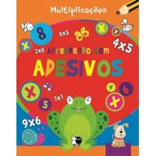 Aprendendo com adesivos - Multiplicações
