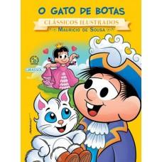 Coleção - Turma da Mônica - Clássicos Ilustrados - O Gato de Botas
