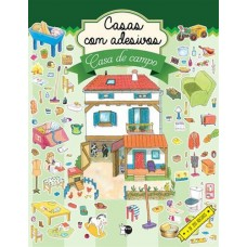 Casas com adesivos - Casa de campo