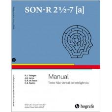SON-R 2 1/2 - 7 [A] - Teste Não-Verbal de Inteligência - Manual