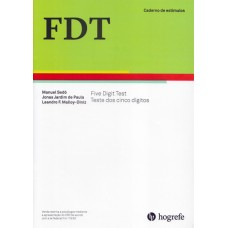 FDT - Five Digit Test - Caderno de Aplicação - Estímulos