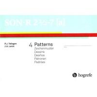 SON-R 2 1/2 - 7 [A] - Teste Não-Verbal de Inteligência - Caderno Sub Teste Padrões (Pacote com 50 Unidades)