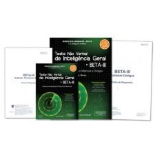 Teste Não Verbal de Inteligência Geral BETA III: Subtestes Raciocínio Matricial e Códigos - Kit