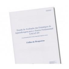 EAVAP-EF - Escala de Avaliação Das Estratégias de Aprendizagem para O Ensino Fundamental - Bloco de Resposta