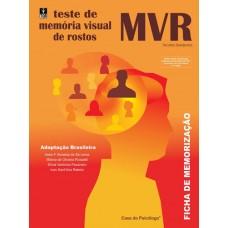 MVR - Memória Visual de Rostos - Ficha de Memorização