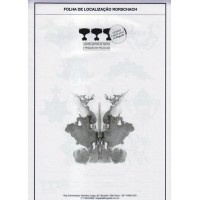 Rorschach - Bloco de respostas - Folha de localização colorida