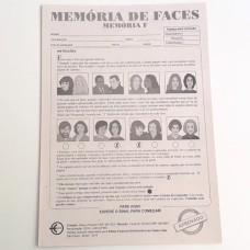 Teste Memória F (Memória de Reconhecimento de Faces) - Folha de Resposta
