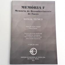 Teste Memória F (Memória de Reconhecimento de Faces) - Manual
