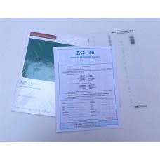 AC-15 - Coleção (com 1 Livro de Instruções (Manual), 1 Livros de Exercícios, 1 Crivo de Correção)