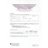 SSRS - Inventário de Habilidades Sociais, Problemas de Comportamento e Competência Acadêmica para Crianças - Kit de Reposição
