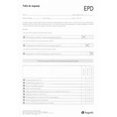 EPD - Escala de Pensamentos Depressivos - Bloco com 25 Folhas de Resposta e 25 Folhas de Registro