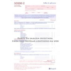 MMSE-2 - Mini Exame do Estado Mental - Formulário Padrão - Vermelho