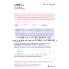 MMSE-2 - Mini Exame do Estado Mental - Formulário Breve - Vermelho