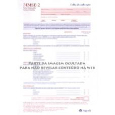 MMSE-2 - Mini Exame do Estado Mental - Formulário Expandido - Vermelho
