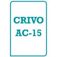 AC-15 - Teste de Atenção Concentrada - Crivo de Correção