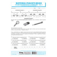 Piaget-Head - Bateria de Orientação Direta - Esquerda - Livro de Exercício Vol. 3