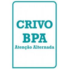 BPA - Bateria Psicológica para Avaliação da Atenção - Crivo de Correção - Atenção Alternada