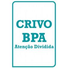 BPA - Bateria Psicológica para Avaliação da Atenção - Crivo de Correção - Atenção Dividida