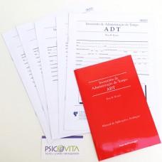 ADT - Inventário de Administração do Tempo - Kit Completo